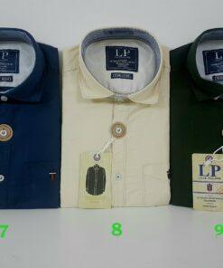 Louis Philippe Premium Cotton Shirts (12 Colors )