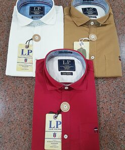 Louis Philippe Premium Cotton Shirts (12 Colors )