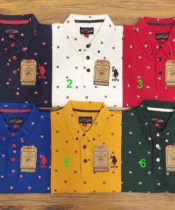 U.S Polo Printed 2 T-Shirt Polo Pack