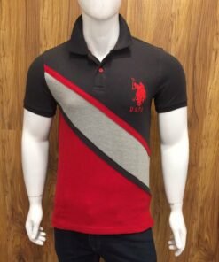 U.S Polo Assn Strip 2 T-Shirt Pack