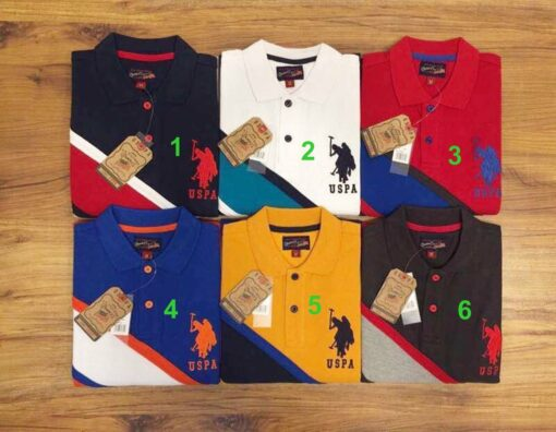 U.S Polo Assn Strip 2 T-Shirt Pack