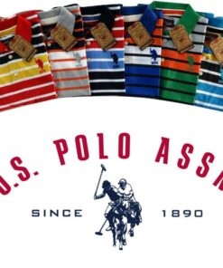 U.S Polo Assn Stripes 2 T-Shirt Pack