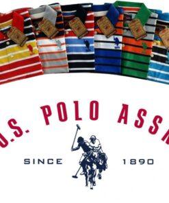 U.S Polo Assn Stripes 2 T-Shirt Pack