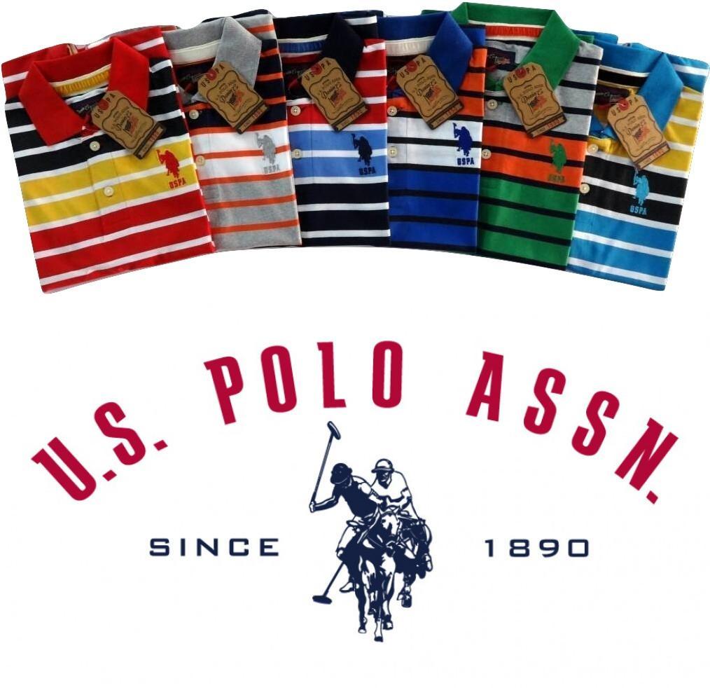 6033ef53 U.S Polo Assn Stripes 2 T-Shirt Pack