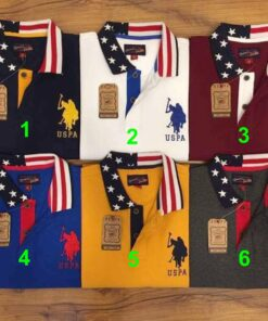 U.S Polo Assn USA Plated 2 Polo Pack