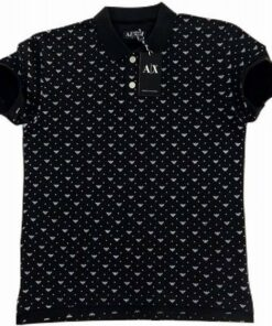 Armani Exchange Printed 2 Polo T-Shirt Pack