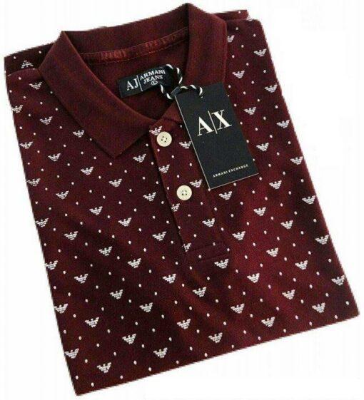 Armani Exchange Printed 2 Polo T-Shirt Pack
