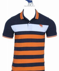 Abercrombie & Fitch Stripes 2 Polo T-Shirt Pack