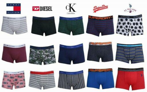 Mixed Brands Mens Trunk 3pcs Pack
