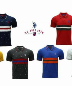 U.S POLO ASSN POLO 2 T-SHIRT PRINTED PACK