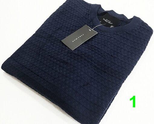 Zara Man Textured Knit Sweater