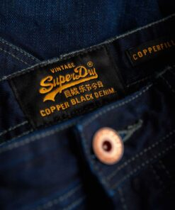 Superdry Copper Black Slim Fit Denim