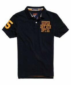 SuperDry Coaches Pique 2 Polo Pack
