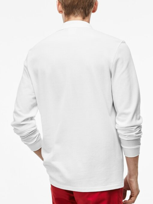 11501501478036 Lacoste Men White Solid Polo Collar T shirt 8171501501478263 2 min 510x680 - Lacoste L12.12 2 Full Sleeve Pique Polo Pack