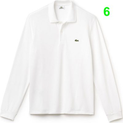 L1312 001 24 min 400x400 - Lacoste L12.12 2 Full Sleeve Pique Polo Pack