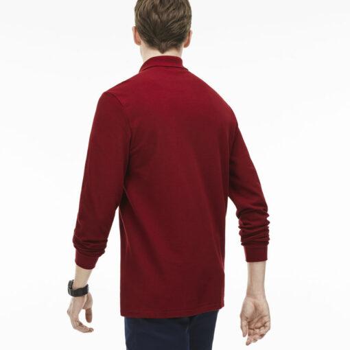 Long Sleeve Bordeaux Lacoste L 12 12 Polo L1312 00 1 min 510x510 - Lacoste L12.12 2 Full Sleeve Pique Polo Pack