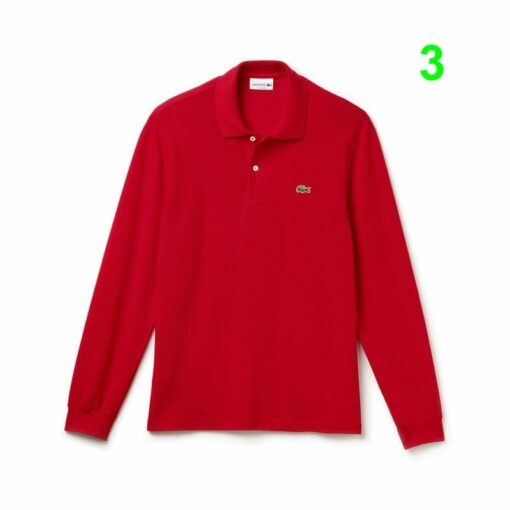 Long Sleeve Red Lacoste L 12 12 Polo L1312 00 2 min 510x510 - Lacoste L12.12 2 Full Sleeve Pique Polo Pack