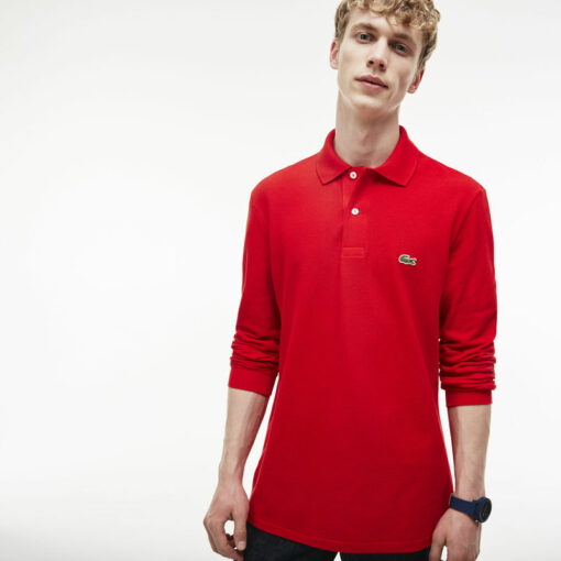 Long Sleeve Red Lacoste L 12 12 Polo L1312 00 min 510x510 - Lacoste L12.12 2 Full Sleeve Pique Polo Pack