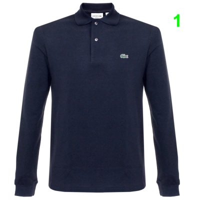 lacoste pique navy ls polo shirt l1312 166 p25740 101187 image min 400x400 - Lacoste L12.12 2 Full Sleeve Pique Polo Pack