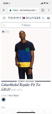 52344308 820974831585230 1266379795944439808 n 185x400 - Tommy Hilfiger Premium 2 T-Shirt Pack