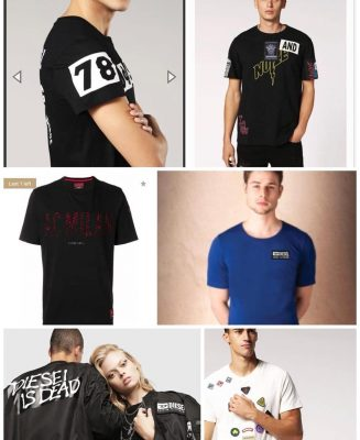 57799319 312329899688036 6698534193961206996 n min 327x400 - Diesel Hate Couture 2 T-Shirt Pack