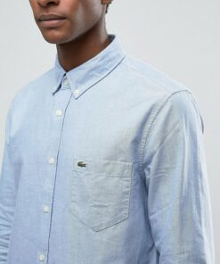 oxford shirt in blue regular fit 1973375 original min 247x296 - Lacoste Oxford Shirts