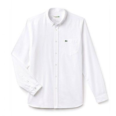 white min 1 400x400 - Lacoste Premium Oxford Shirts