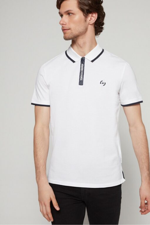 212249555 white in min 510x765 - Armani Exchange Zip 2 Polo Pack