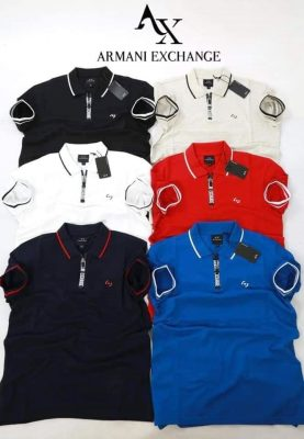72224085 673380783159621 1175523847311458304 n min 277x400 - Armani Exchange Zip 2 Polo Pack