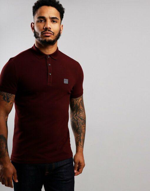 boss casualwear passenger polo shirt dark red 1 870x1110 min 510x651 - Hugo Boss Passenger 2 Polo Pack