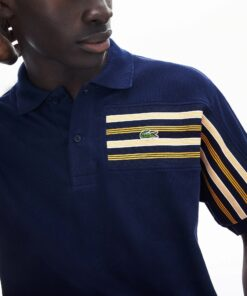 PH8534 166 23 min 247x296 - Lacoste L.12.12 Striped Panel Cotton Piqué 2 Polo Pack