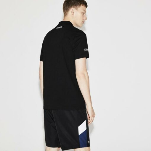 products Mens Black White Ocean Lacoste Sport Tennis Ultra Lightweight Colorblock Knit Polo Yh8032 00 1 510x510 - Lacoste Sport 2 Polo Pack